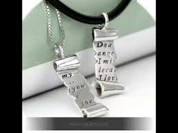 Couple Name Necklace Where To Buy Personalized Couple Name Necklaces Youtube