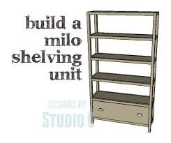 Open Shelving Unit by A Beautiful Shelving Unit With A Drawer At The Bottom U2013 Designs By