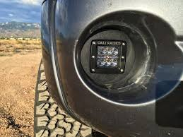 toyota tacoma fog lights 2005 2011 toyota tacoma fog light led pod replacement cali raised