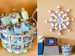 nautical baby shower decorations for home simple with picture of