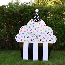 Birthday Lawn Decorations Blog Yard Announcements