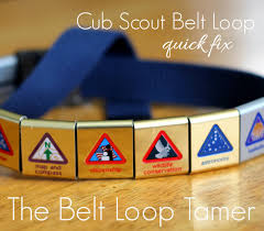 the free cure for slipping cub scout belt loops cub scouting