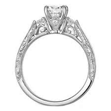 filigree engagement ring engagement ring filigree diamond engagement ring cathedral pave