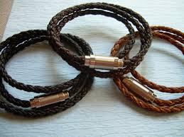 men braided leather bracelet images Premium triple wrap braided leather bracelet mens bracelet wrap jpg