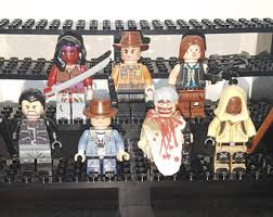 walking dead wrapping paper walking dead lego etsy