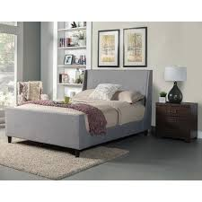 Leather Upholstered Bed Upholstered Wood Bed U2013 Bookofmatches Co