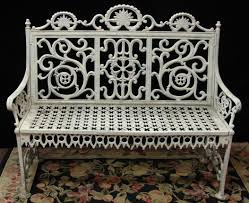 Best Spray Paint For Metal Patio Furniture by 75 Best Cast Iron Outdoor Furniture Images On Pinterest Outdoor