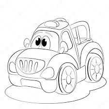 cartoon car drawing cartoon funny car u2014 stock vector vitasunny 64508763