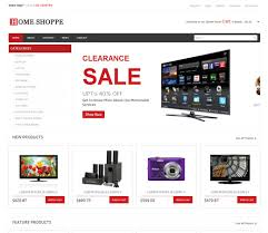 download template toko online simple home shoppe online shopping cart mobile website template by