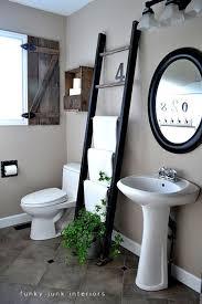 Ladder Shelf For Bathroom Bathroom Towel Storage 12 Quick Creative U0026 Inexpensive Ideas