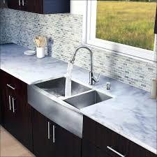 kraus 36 apron front kitchen sink stainless steel sinks 33 flat