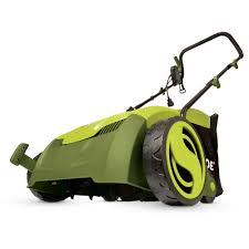 Home Depot Create Your Own Collection by Sun Joe 13 In 12 Amp Electric Scarifier Lawn Dethatcher With