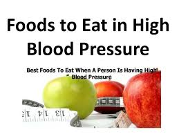 foods to eat in high blood pressure in hindi iह ई ब लड