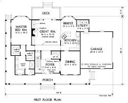 Don Gardner Floor Plans House Plan The Brentwood By Donald A Gardner Architects
