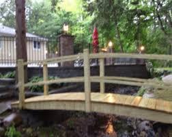Backyard Bridge Garden Bridge Etsy