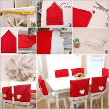 santa chair covers make these amazing santa hat chair covers for christmas