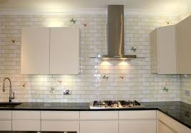 frosted glass backsplash in kitchen white backsplash subway tiles for your kitchen outofhome