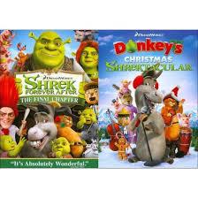 shrek donkey u0027s christmas shrektacular side side