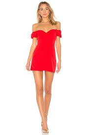 off the shoulder dress revolve