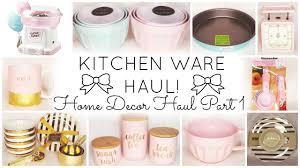 kitchen ware haul home decor haul part 1 homegoods tj maxx