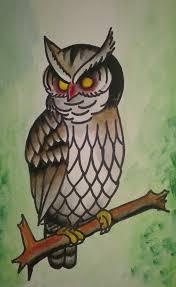 55 traditional owl tattoos ideas