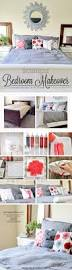 an inexpensive bedroom makeover using paint a pillow stencil stories