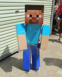 Steve Minecraft Halloween Costume 12 Season U0027s Popular Costume Ideas Pixel Size