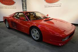 classic ferrari testarossa 1989 ferrari testarossa classic driver market
