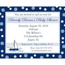 how to create nautical baby shower invitations templates ideas
