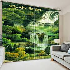 Green Kitchen Curtains by Online Get Cheap Custom Kitchen Curtains Aliexpress Com Alibaba