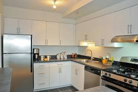 flat white cabinets flat front cabinets contemporary kitchen shift
