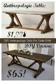 how to make a simple picnic table