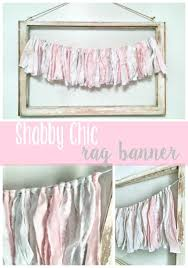 Shabby Chic Banner by Shabby Chic Rag Banner Place In Progress