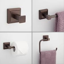 Covered Toilet Paper Holder Aaliyah 4 Piece Bathroom Accessory Set Bathroom