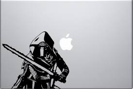 star wars wall decal etsy kylo ren decal