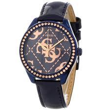 montre guess bracelet cuir images Guess w0524l1 montre pour femme avec bracelet en cuir comparer jpg