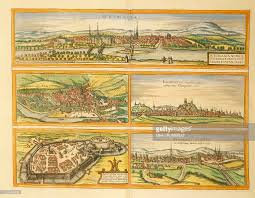 Cologne Germany Map by Map Of Weimar Jena Erfurt Gotha And Fulda From Civitates Orbis