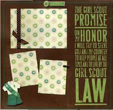 premade scrapbooks 36 best girl scout scrapbook images on scrapbook