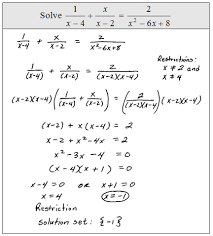 rational equation worksheet worksheets