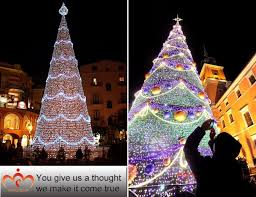 Spiral Light Christmas Tree Outdoor by Mall Pvc Wire Lights Christmas Tree Decor Outdoor Free Standing