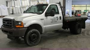1999 ford f450 super duty flatbed truck item e2561 sold