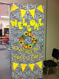 Welcome Back Decorations by Back To Door Decoration Pinterest Door