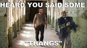 Walking Dead Stuff And Things Meme - the walking dead father gabriel memes of the walking dead the