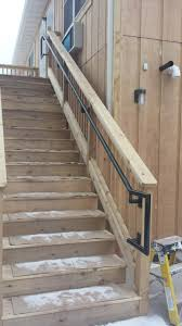 Banister Handrail Custom Decorative Railing