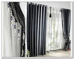 Black Grey And White Curtains Ideas Grey Black White Curtains Home Decor Ideas Pinterest Black