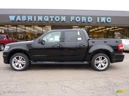Ford Explorer Awd - 2010 black ford explorer sport trac adrenalin awd 40479376