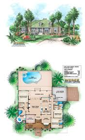 Old Florida Style House Plans 77 Best Beach House Plans Images On Pinterest Beach House Plans