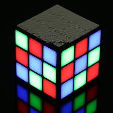 light up portable speaker light up cube portable speaker ridley retail