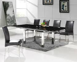 tavoli da sala da pranzo moderni espandibile tavolo da pranzo moderno design emt t005 c026