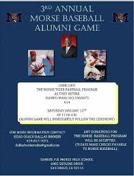 morse high school yearbook 3rd annual morse baseball alumni morse